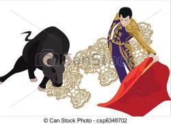 Bull clipart matador
