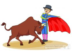 Matador clipart cartoon