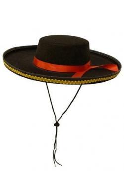 Matador clipart hat