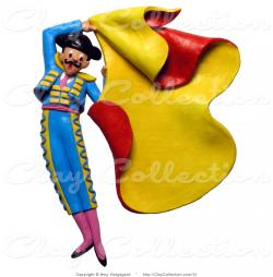 Matador clipart spanish bullfighting
