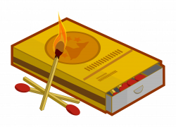 Matches clipart cartoon