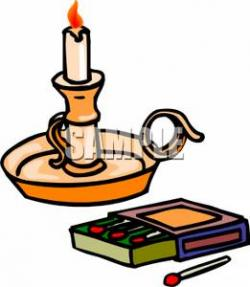 Match clipart candle