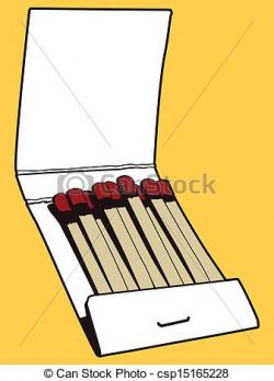 Matches clipart drawing