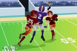 Match clipart football match