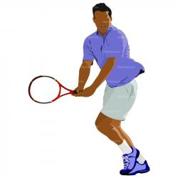 Matches clipart lawn tennis