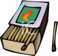 Match clipart box matches