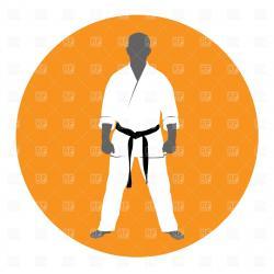 Kimono clipart martial art