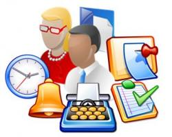 Maters clipart business student