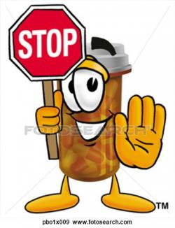 Stop clipart cartoon