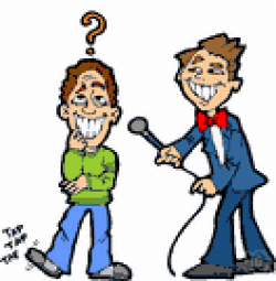 Maters clipart game show host