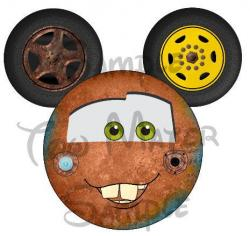 Maters clipart head