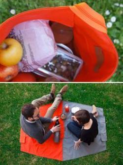 Matte clipart picnic blanket