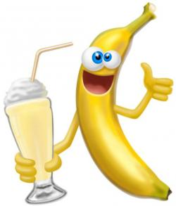 Smiley clipart banana
