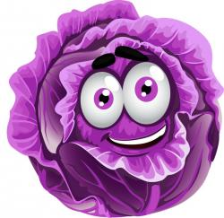 Cabbage clipart funny