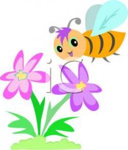 Mauve clipart bee