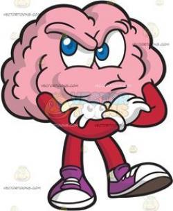 Mauve clipart brain