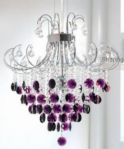 Mauve clipart chandelier