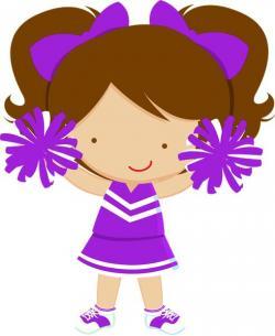 Mauve clipart cheerleading