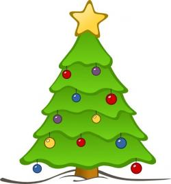 Mini clipart christmas tree