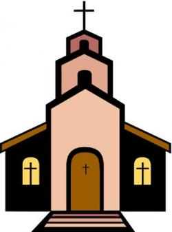Mauve clipart church