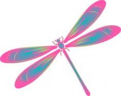 Mauve clipart dragonfly