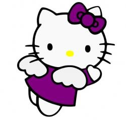 Mauve clipart hello kitty