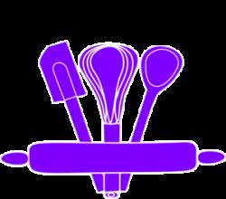 Mauve clipart kitchen utensil