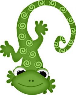 Mauve clipart lizard
