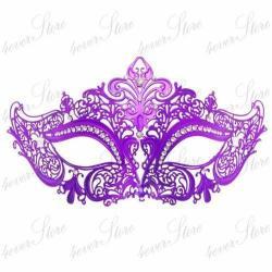 Mauve clipart masquerade