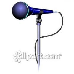 Microphone clipart mike