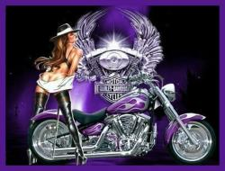 Mauve clipart motorcycle