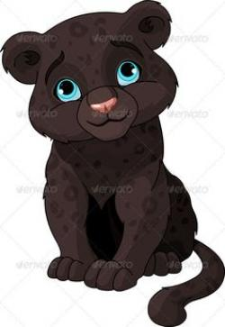Mauve clipart panther