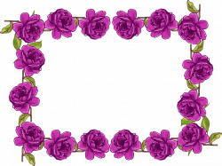 Purple Rose clipart fancy heart