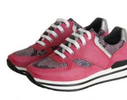 Mauve clipart running shoe