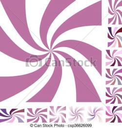 Mauve clipart spiral
