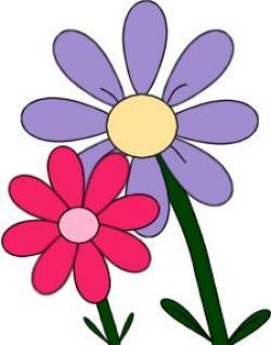 Mauve clipart spring flower