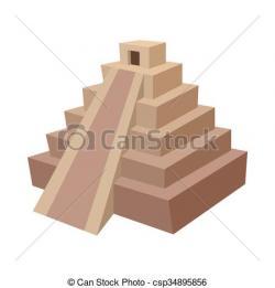 Riuns clipart mayan pyramid