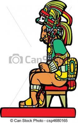 Mayan clipart lord