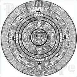 Mayan clipart mayan calendar