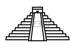 Mayan clipart mayan pyramid