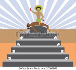 Mayan clipart sacrifice