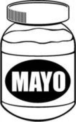 Mayonnaise clipart