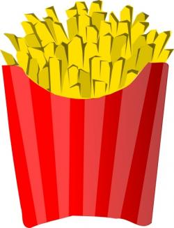 Chips clipart mcdonalds