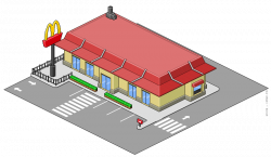 McDonald's clipart building