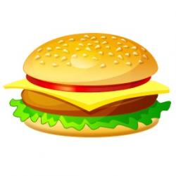 Burger clipart big mac