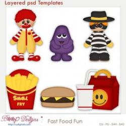 McDonald's clipart fast food