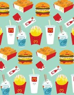 McDonald's clipart processed food
