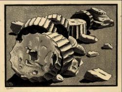 M.c.escher clipart bread