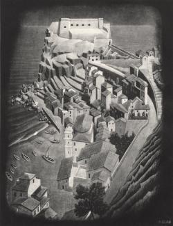 M.c.escher clipart castle