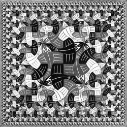 M.c.escher clipart drum